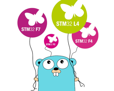 Gopher and STM32 balloons
